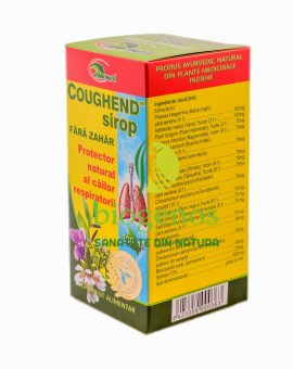 Coughend Sirop 100 ml - Natural - Biogenos.ro