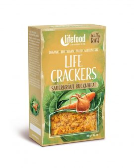 LIFECRACKERS cu varza murata raw eco 90g 65