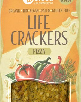 LIFECRACKERS Pizza raw eco 70g 72