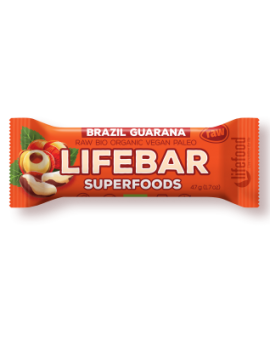 Lifebar plus baton cu guarana si nuci braziliene eco 47g 62