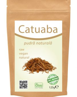 Catuaba pulbere raw 125g 54