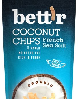 Chips de cocos cu sare eco 70g BETTR 22