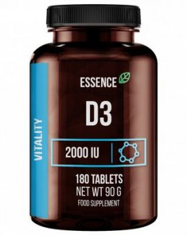 VITAMINA D3 2000 UI, 180 TABLETE, ESSENCE 32