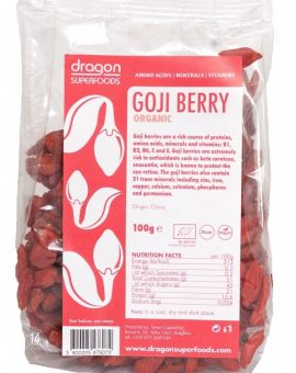 Goji berries raw eco 100g 57