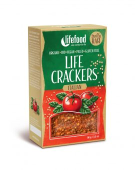 LIFECRACKERS italian raw eco 90g 70