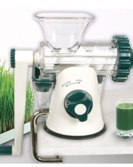 Storcator manual Healthy Juicer green 20