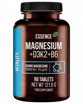 MAGNEZIU + VITAMINA D3, K2 SI B6, 90 TABLETE, ESSENCE 22