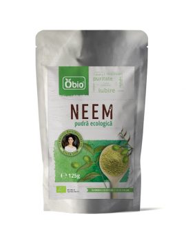 Neem pulbere raw eco 125g 19