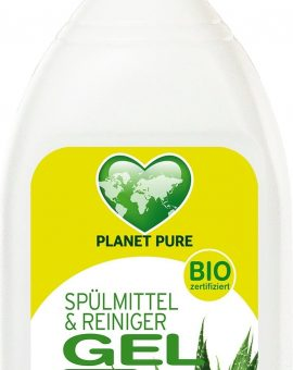 Detergent GEL bio de vase - aloe vera - 500ml Planet Pure 76