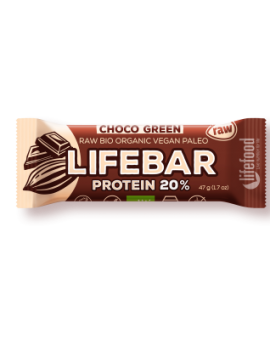 Lifebar baton cu smochine raw eco 47g 42