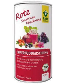 Organic Red Superfood mix bio 220g RAAB 48