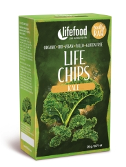 LIFE Chips din Kale raw eco 20g Lifefood 46