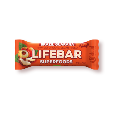 Lifebar plus baton cu guarana si nuci braziliene eco 47g 17
