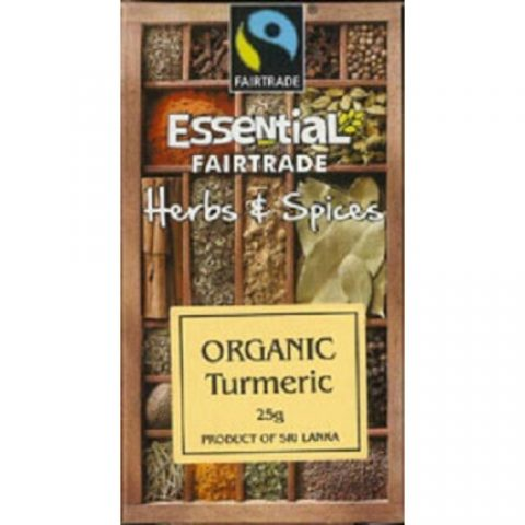 Turmeric eco, fairtrade 25g 17