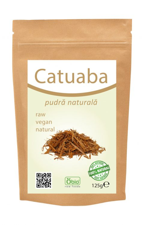 Catuaba pulbere raw 125g 17