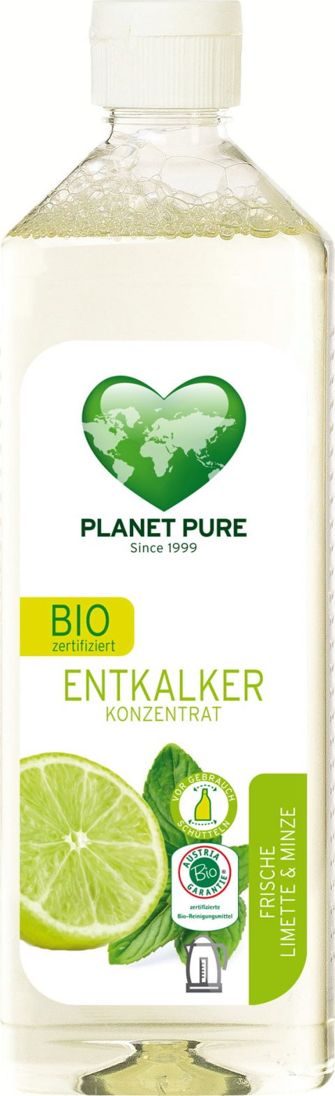 Detartrant bio - lime si menta - 510ml Planet Pure 17