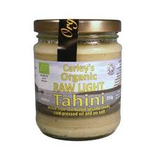Tahini light raw eco 250g Carley s 24