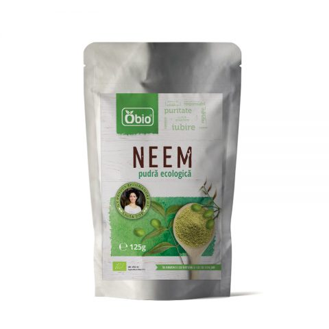 Neem pulbere raw eco 125g 17