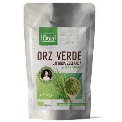 Orz verde pulbere eco NZ Obio 125g 17