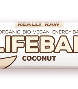 Lifebar baton cu cocos raw eco 47g 30