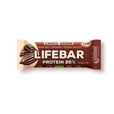 Lifebar baton cu smochine raw eco 47g 17