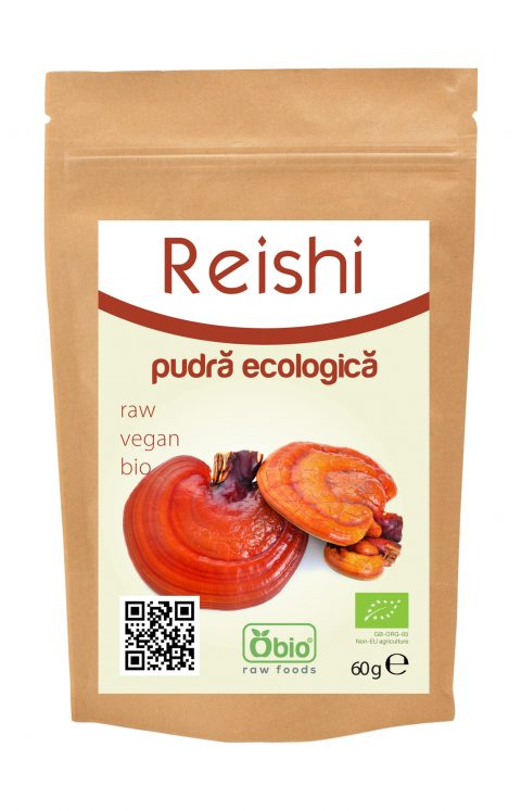 Reishi pulbere eco 60g 17