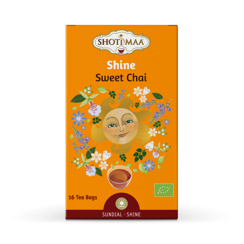 Ceai Shotimaa Sundial - Shine - sweet chai bio 16dz 17