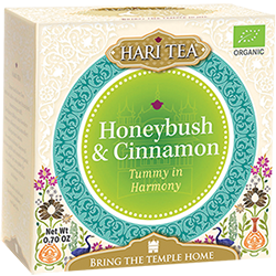 Ceai premium Hari Tea - Tummy in Harmony - honeybush si scortisoara bio 10dz 17