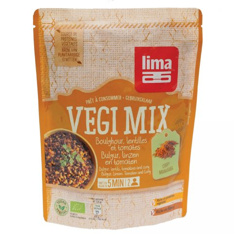 Vegi mix curry, bulgur si linte eco 250g 17