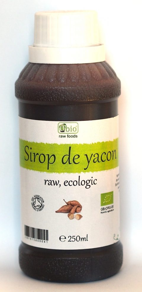 Yacon sirop raw eco 250g 17