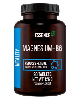 MAGNEZIU + VITAMINA B6, 90TABLETE, ESSENCE 20