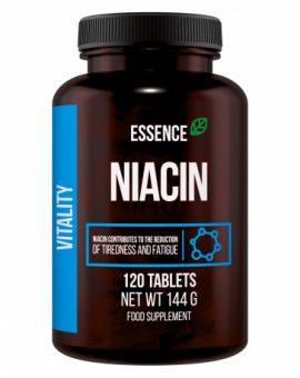 Vitamina B3 niacina 120 tablete, Essence 30