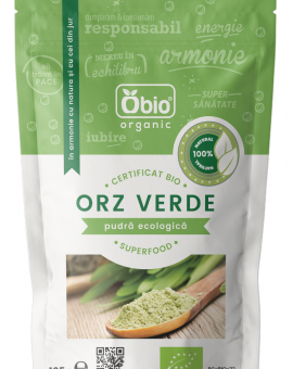 Orz verde pulbere eco 125g Obio 23
